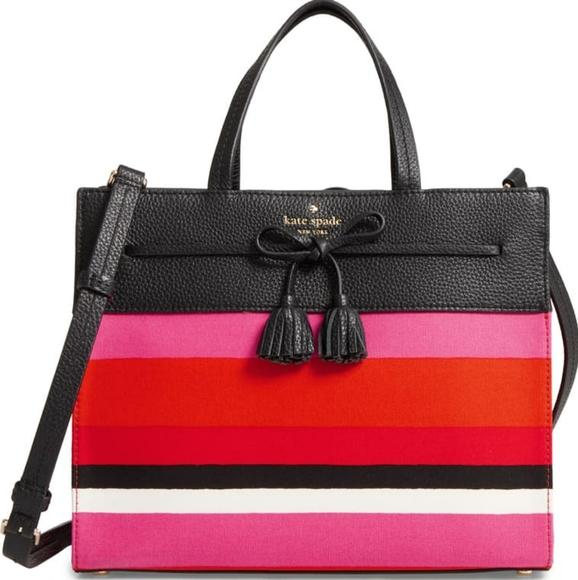 kate spade Handbags - Kate Spade Hayes Street Fabric Isobel